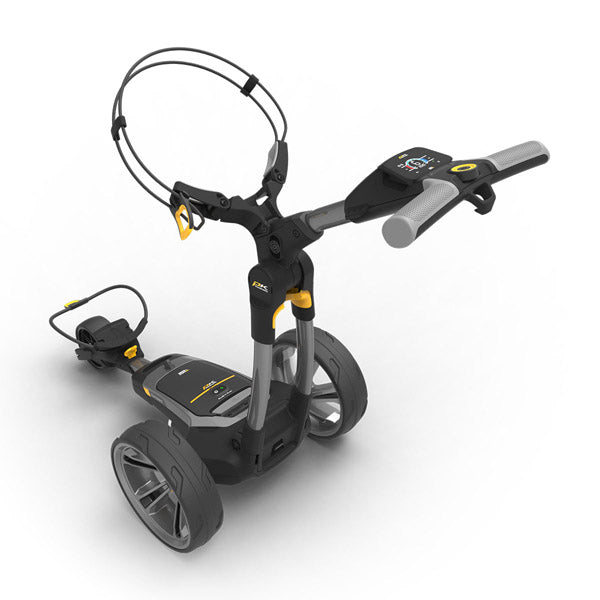 Powakaddy CT6 GPS Electric Golf Trolley Rear Handle