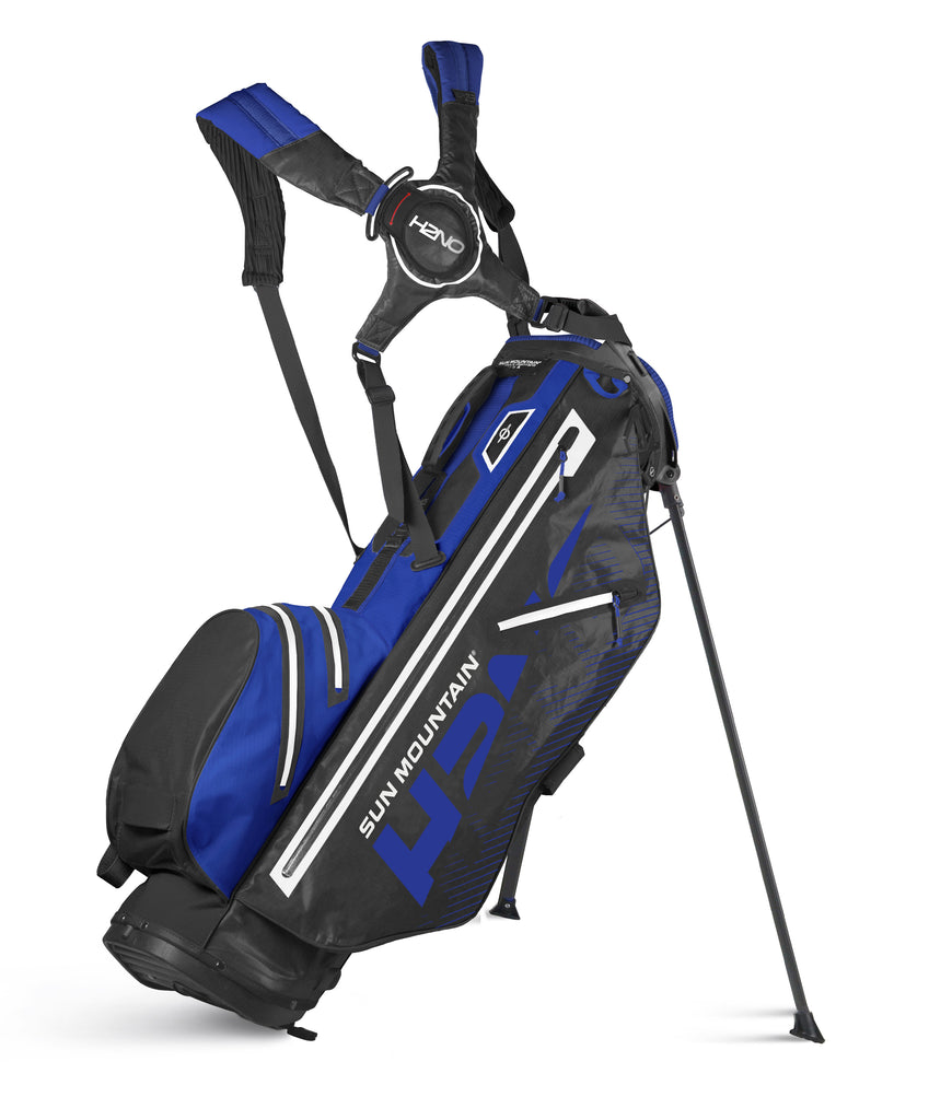 Sun Mountain H2NO Lite Golf Stand Bag - Black/Blue
