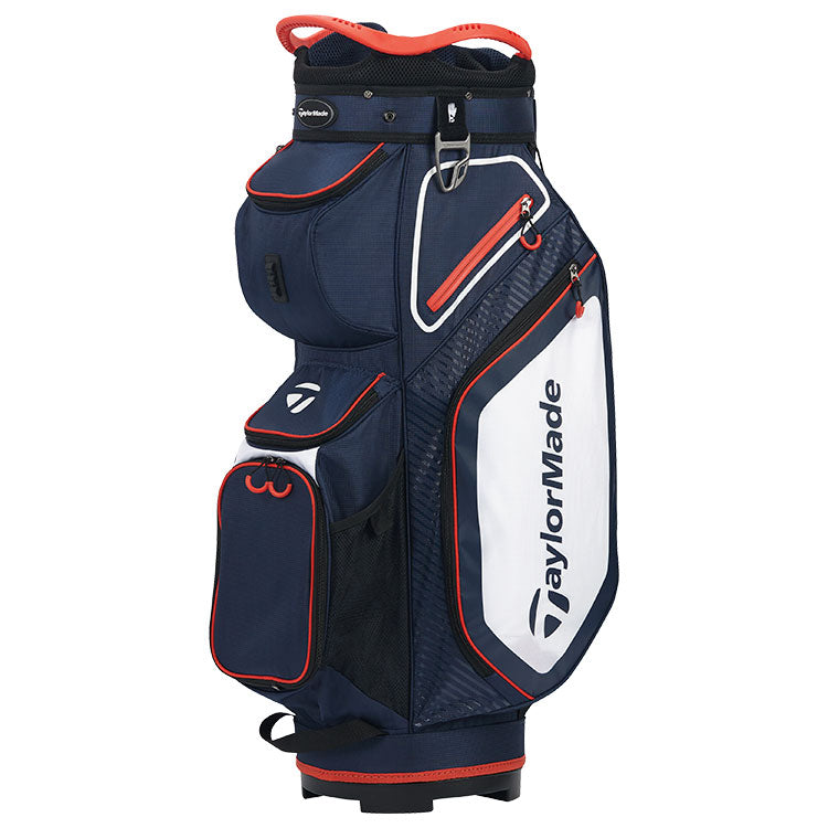 Taylormade 2020 Pro 8.0 Golf Cart Bag - Navy/White/Red