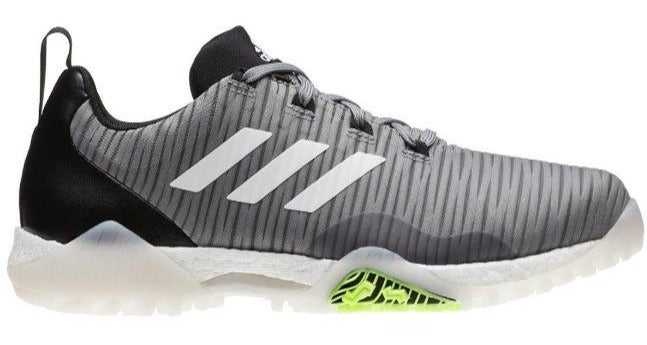 Adidas Code Chaos - Grey/Lime Golf Shoes - Right