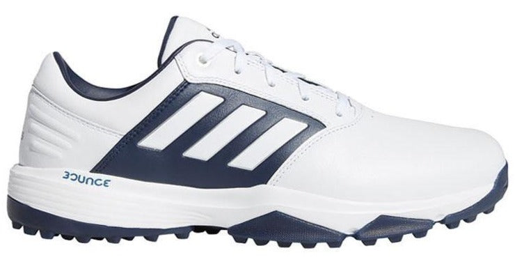 Adidas 360 Bounce SL Golf Shoes - White/Navy