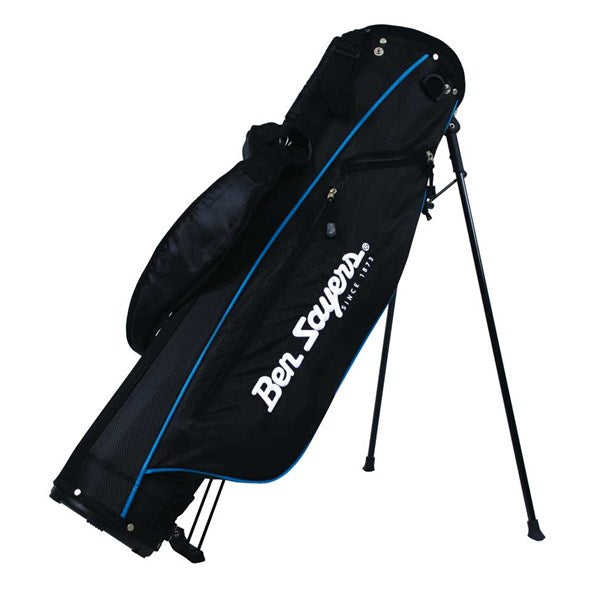 Ben Sayers 6'' Deluxe Golf Stand Bag - Black/Blue