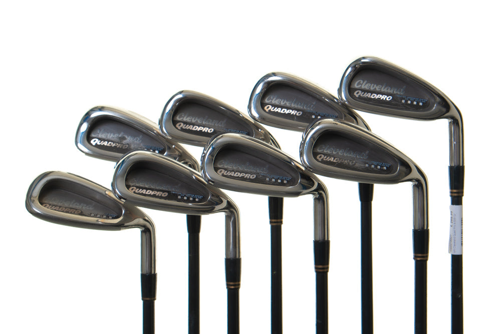 Cleveland Quad Pro Golf Irons 4-SW - Secondhand
