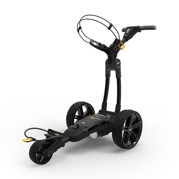 Powakaddy FX3 Electric Golf Trolley - Black (Extended Battery Available)