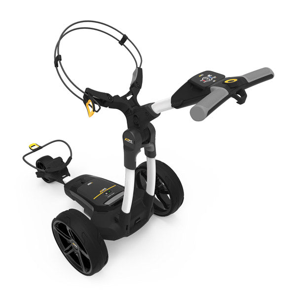 Powakaddy FX3 Electric Golf Trolley - White (Extended Battery Available)