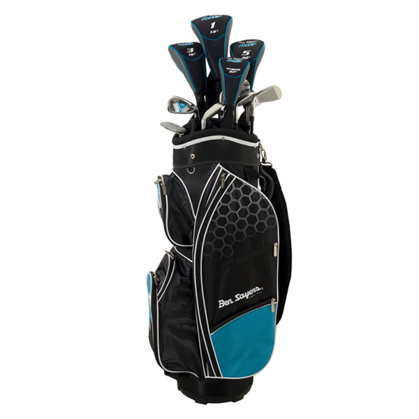 Ben Sayers M8 Ladies Golf Package Set - Turquoise