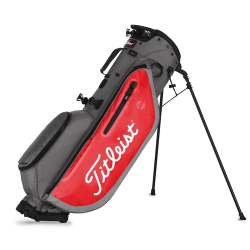 Titleist Players 4 Golf Stand Bag - Grey/Red