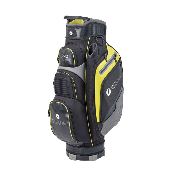 Motocaddy Pro Series Golf Cart Bag - Black/Lime