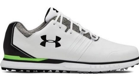 Under Armour Showdown SL - White/Lime - Right