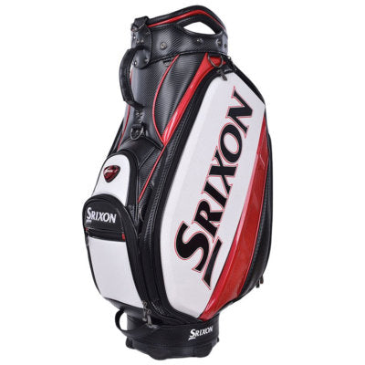 Srixon Tour Staff Golf Bag - White/Red/Black
