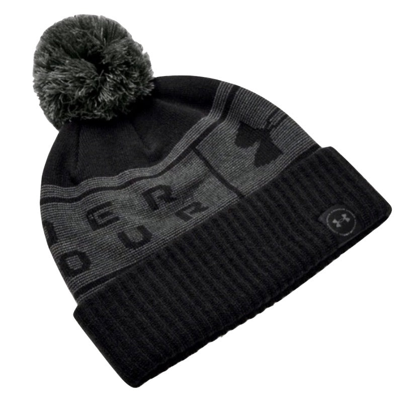 Under Armour Logo Pom Golf Beanie