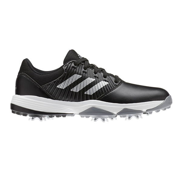 Adidas CP Traxion Junior Golf Shoes - Black