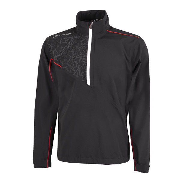 Galvin Green Alex Waterproof Golf Jacket - Black/Red