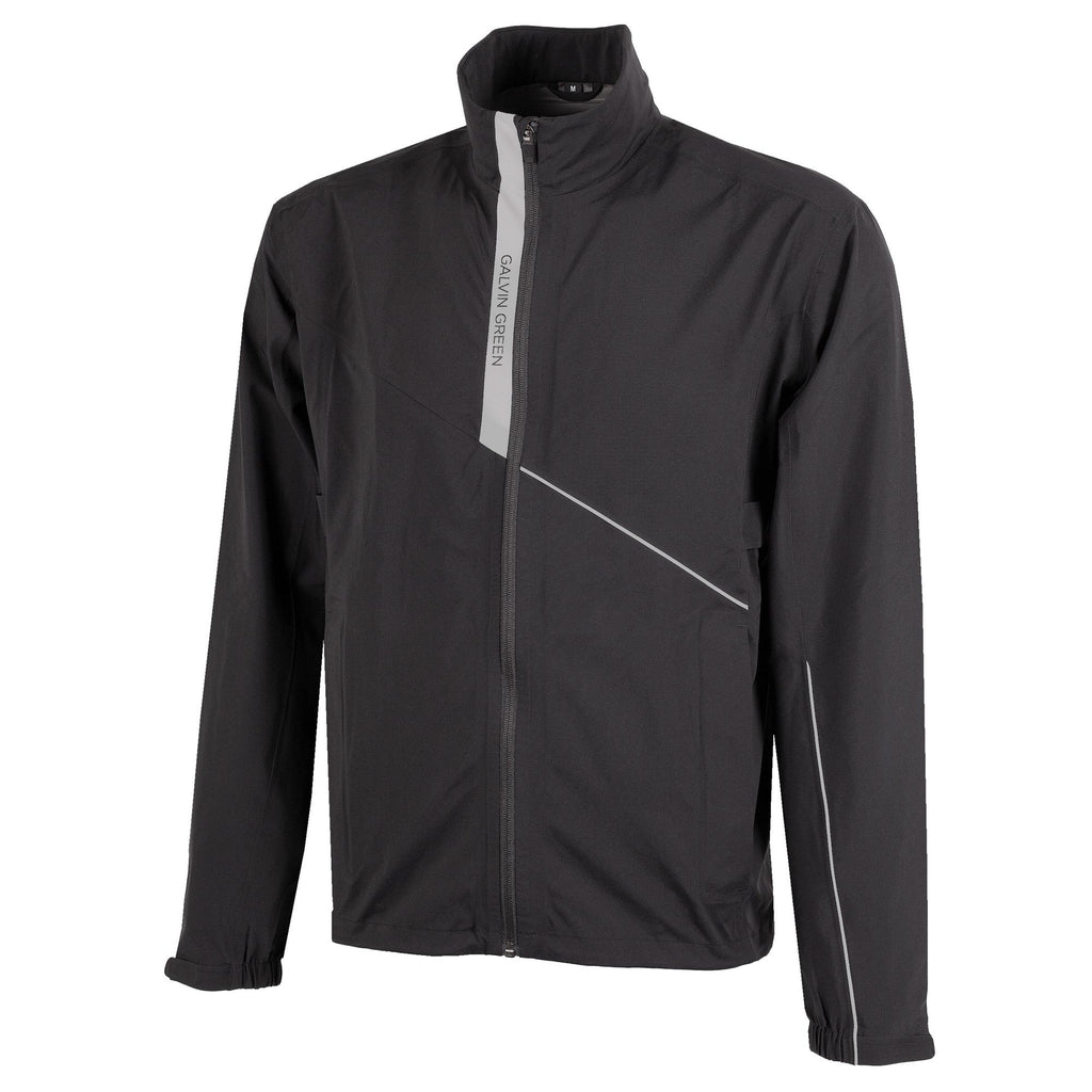 Galvin Green Apollo Waterproof Golf Jacket - Black/Grey
