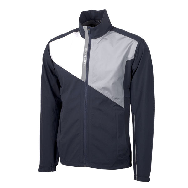 Galvin Green Apollo Waterproof Golf Jacket - Navy/White/Grey