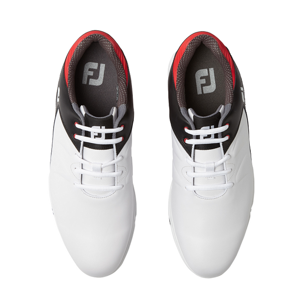 Footjoy Arc XT - White/Black/Red Golf Shoes