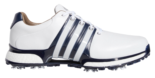 Adidas Tour 360 XT - White/Navy Golf Shoes - Right