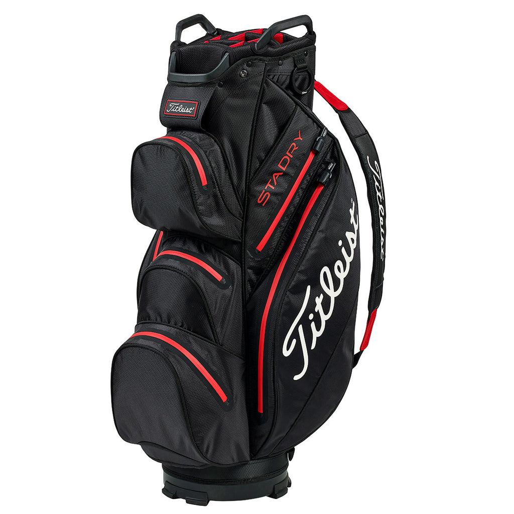 Titleist Stadry '19 Golf Cart Bag - Black/Red