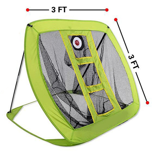 Golf Practice Chipping Net - Yellow