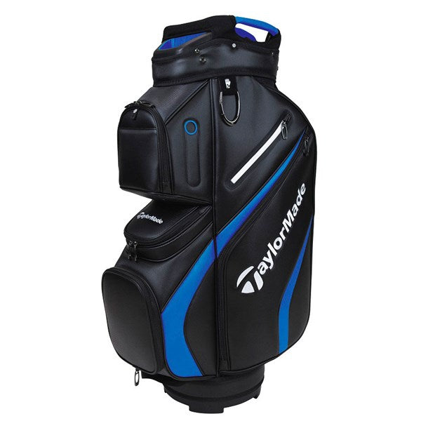Taylormade Deluxe Golf Cart Bag - Black/Blue