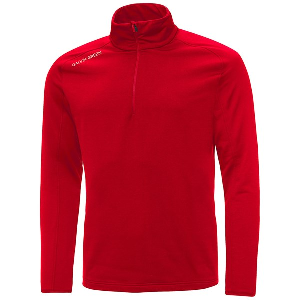 Galvin Green Drake Insula Golf Sweater - Red
