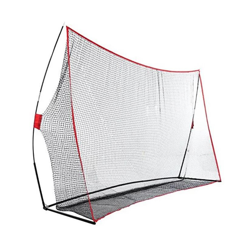 Golf Driving Practice Net - Red/Black