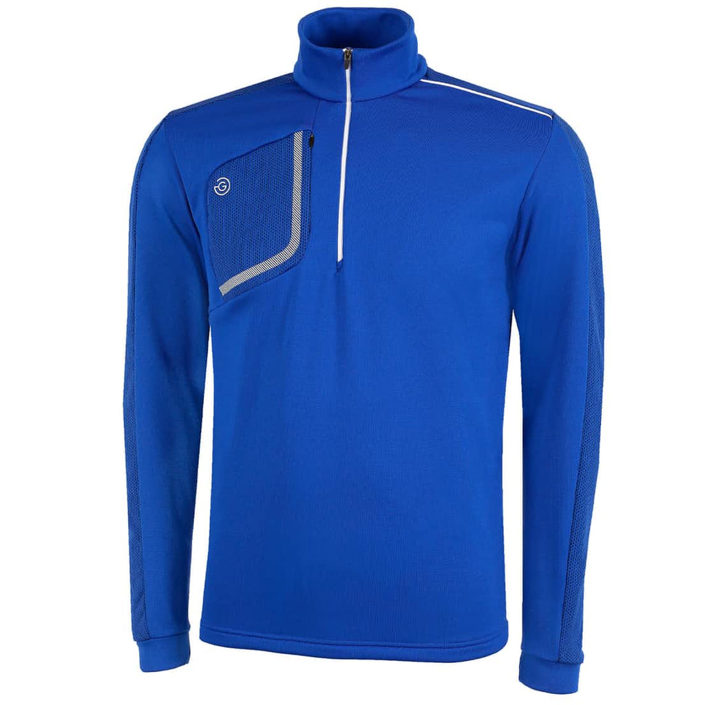 Galvin Green Dwight 1/2 Zip Insula Golf Sweater - Blue
