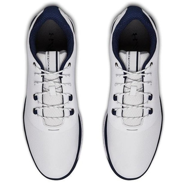 Under Armour Fade RST 2 Golf Shoes - White/Navy - Address