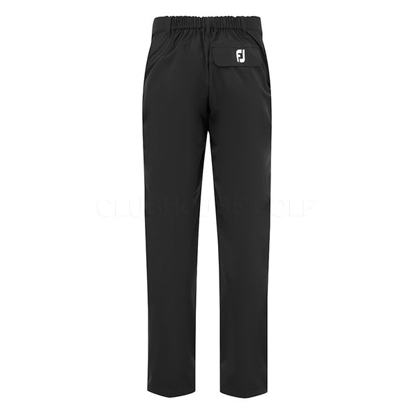 Footjoy Hydrolite V2 Waterproof Golf Rain Trousers - Black