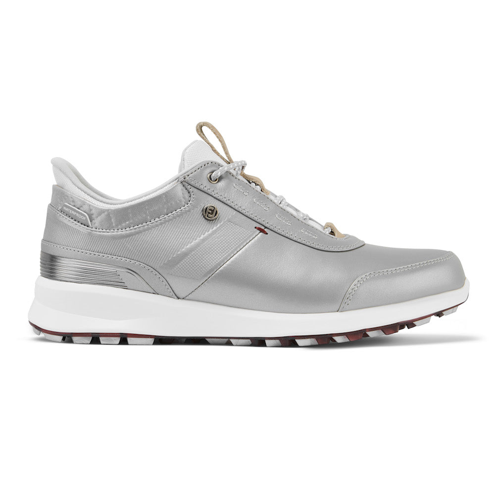 Footjoy Stratos Ladies Golf Shoes - Silver