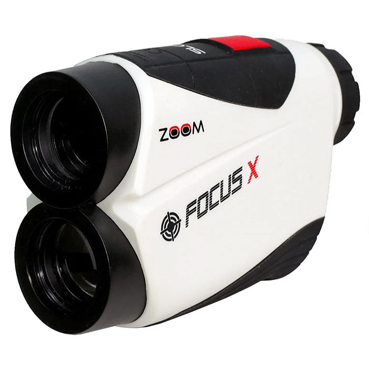 Zoom Focus X Golf Laser Rangefinder - White