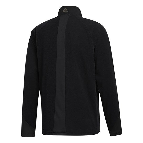 Adidas FrostGuard 1/4 Zip Insulated Golf Sweater - Black