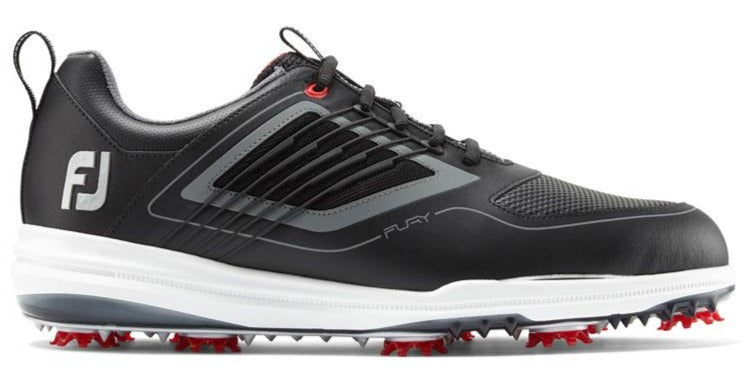 Footjoy Fury 19' Golf Shoes - Black/Red