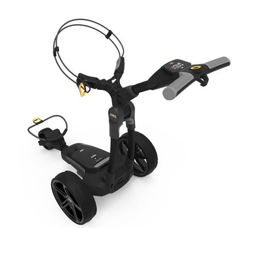 Powakaddy FX3 Electric Golf Trolley (Black) Rear