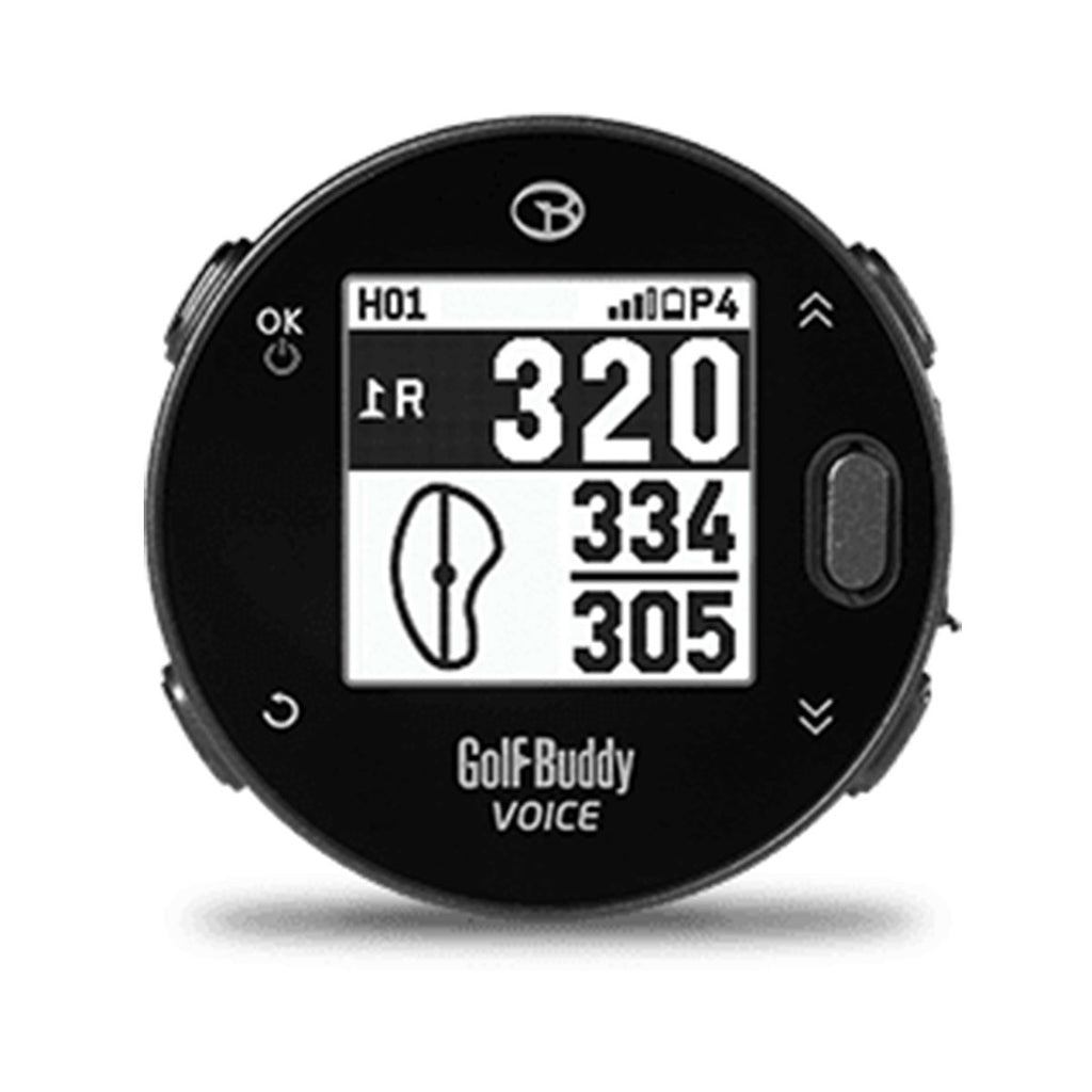 GolfBuddy Voice X Clip On Golf GPS - Front