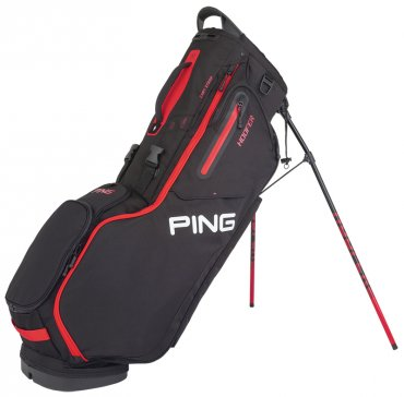 Ping Hoofer '20 Golf Stand Bag - Black/Red