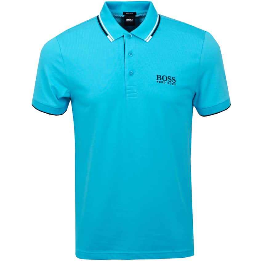Hugo Boss Paddy Pro Golf Polo - Open Blue