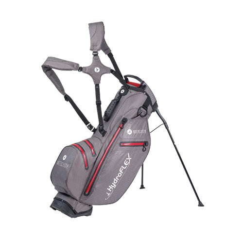 Motocaddy Hydroflex Waterproof Golf Stand Bag - Red