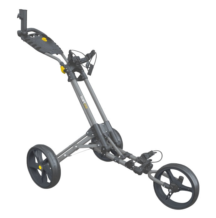 iCart One Golf Push Trolley - Grey/Black