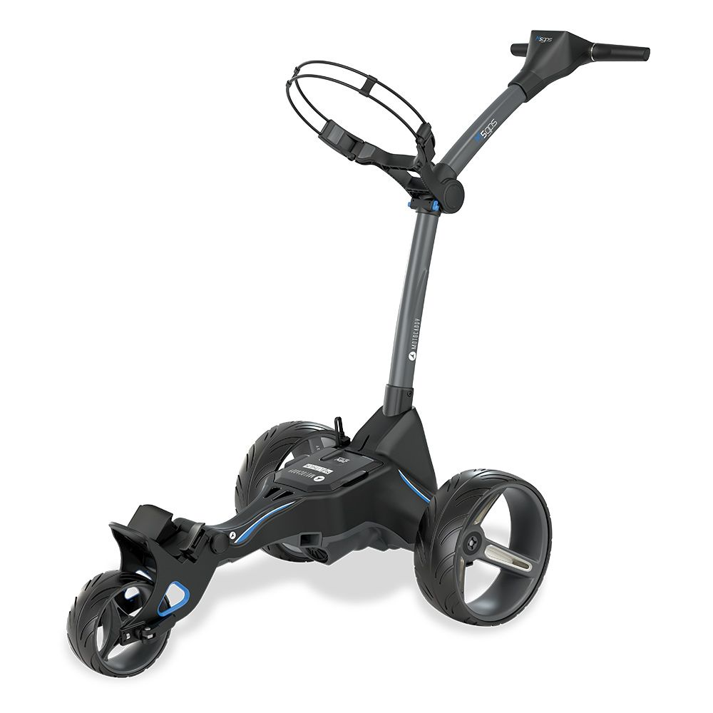 Motocaddy M5 GPS Electric Golf Trolley (Extended Lithium Available)