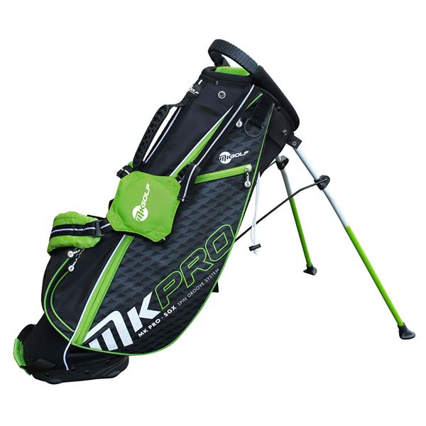 MKids Junior Golf Stand Bag Green - 57in