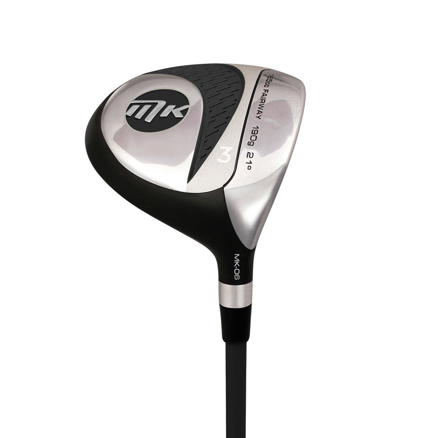 MKids Junior Individual Golf Fairway Wood - Grey 65in