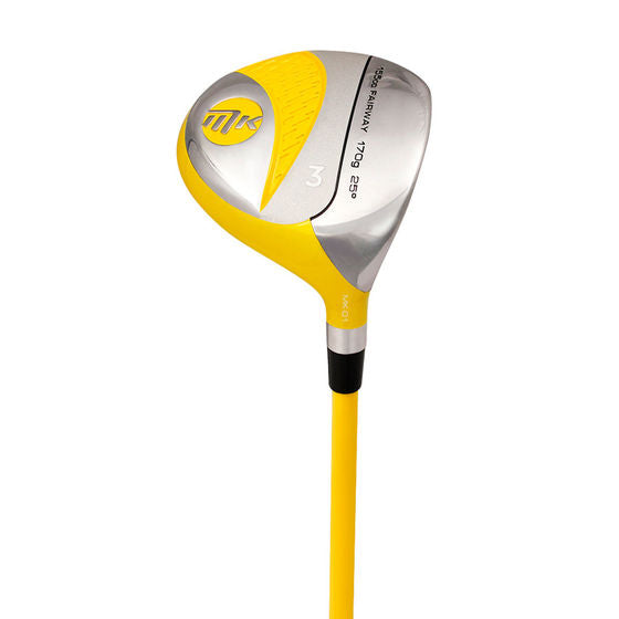 MKids Junior Individual Golf Fairway Wood - Yellow 45in