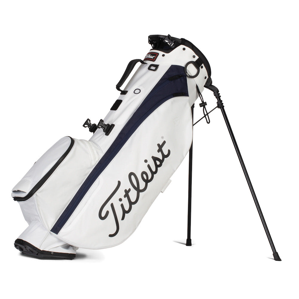 Titleist Players 4 Golf Stand Bag - White/Navy
