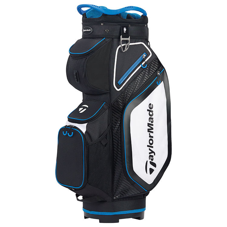 Taylormade 2020 Pro 8.0 Golf Cart Bag - Black/White/Blue