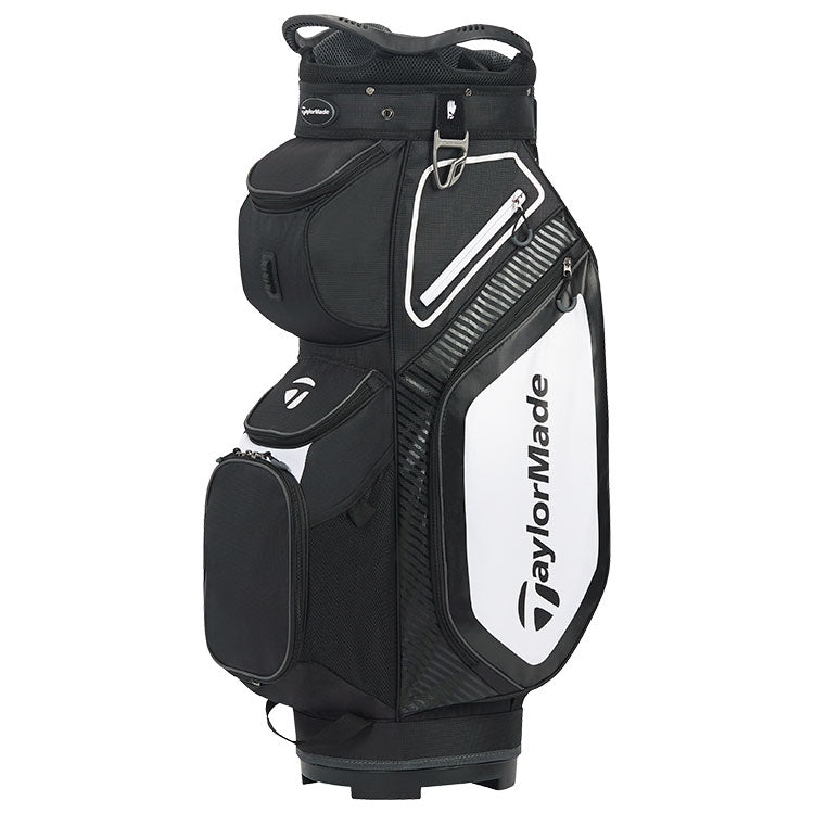 Taylormade 2020 Pro 8.0 Golf Cart Bag - Black/White/Charcoal