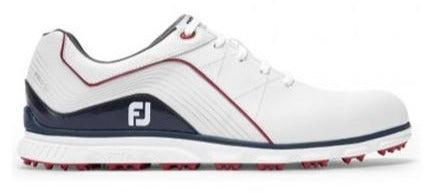 Footjoy Pro SL '19 - White/Navy/Red Golf Shoes