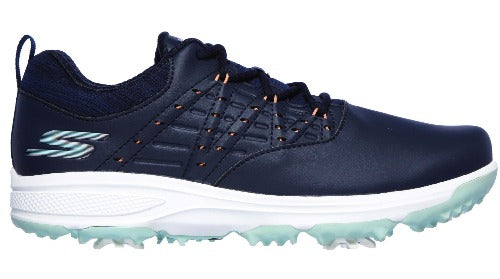 Skechers Ladies Pro 2 Golf Shoes - Navy/Turquoise