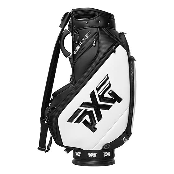 PXG 2020 Golf Tour Staff Bag - Black/White