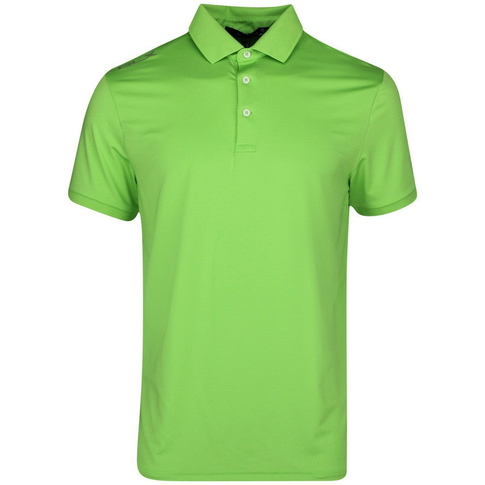 RLX Golf Solid Airflow Golf T-Shirt - Green